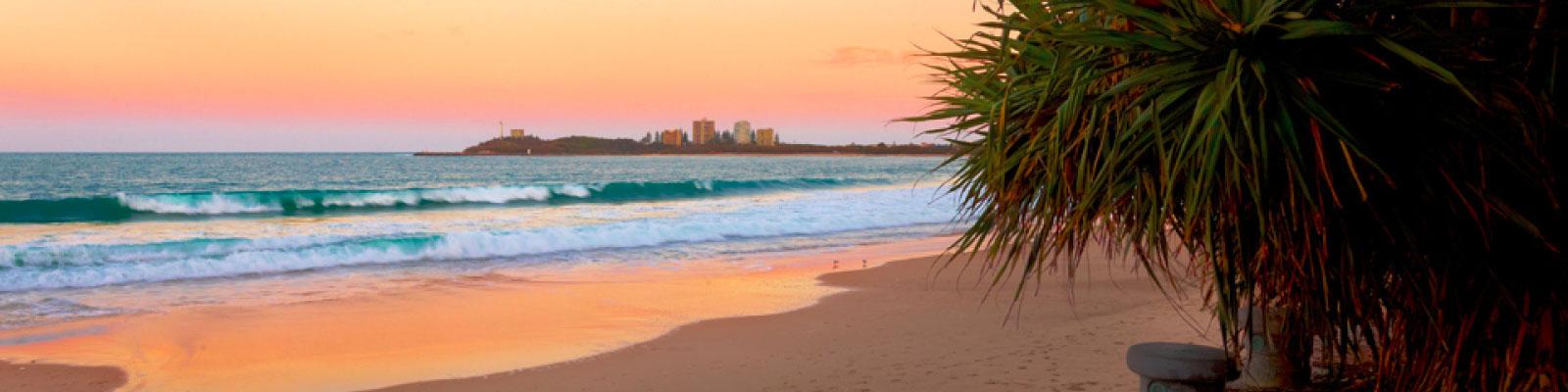 Mooloolaba Beach - Maroochy Surf School